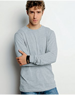 3501 Canvas Men's Jersey Long-Sleeve T-Shirt